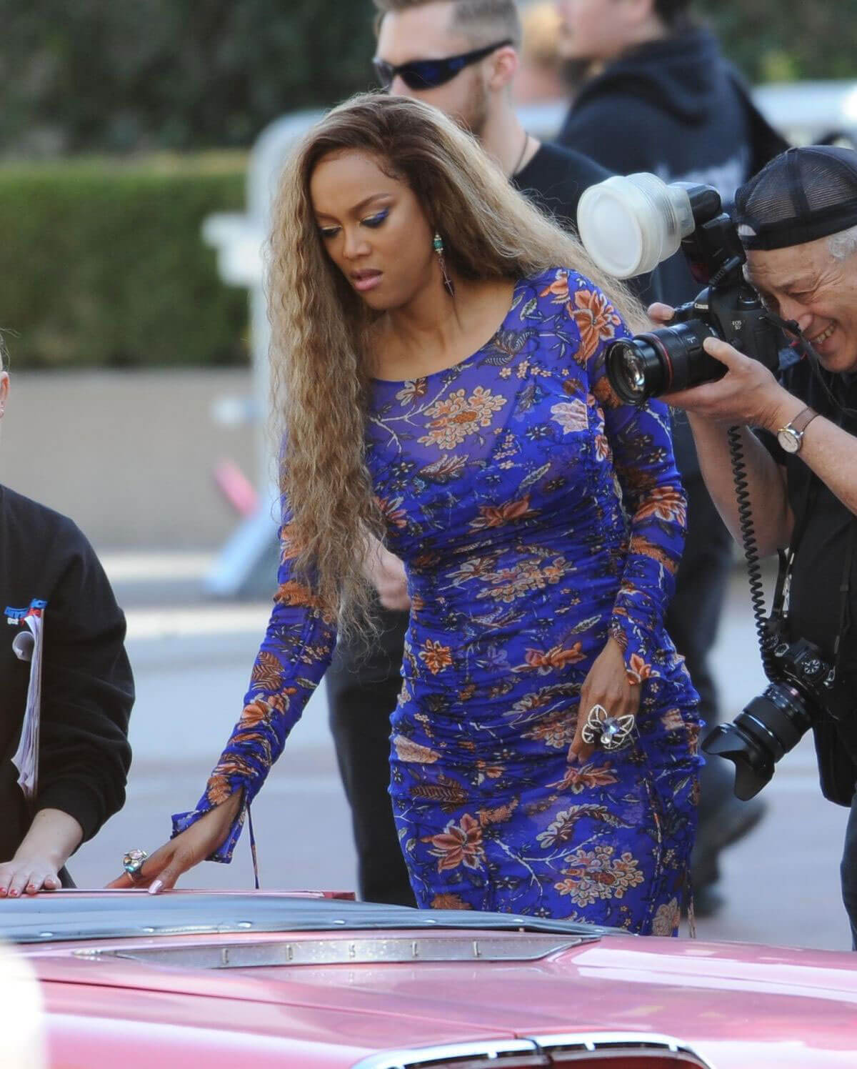 Tyra Banks 2018: Tyra Banks Stills At America's Got Talent Auditions In
