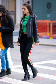 Victoria Justice Stills Out in New York 2018/03/17