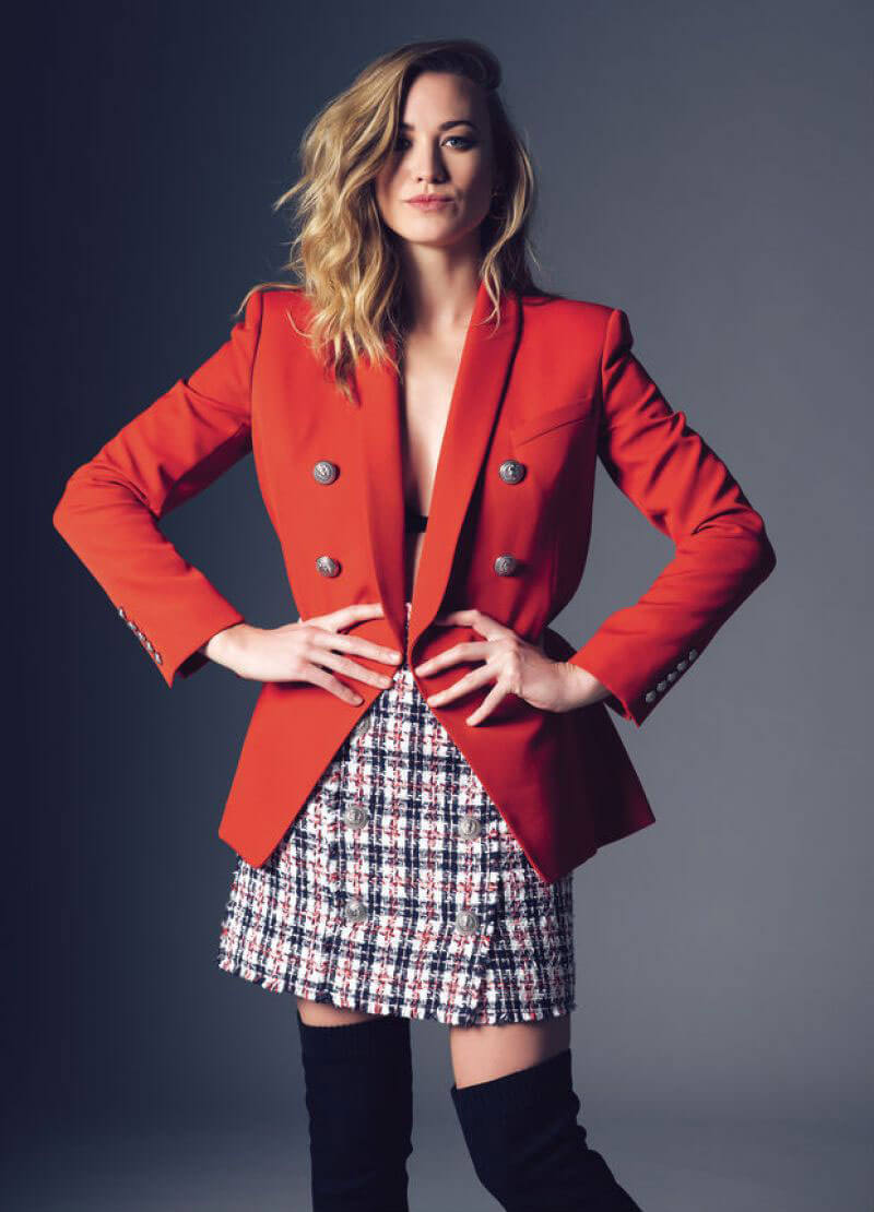 Yvonne Strahovski Stills in Jones Magazine, February 2018 Issue