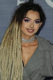 Zhavia Stills at The Four: Battle for Stardom Viewing Party in West Hollywood 2018/02/08