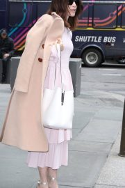 Abigail Spencer Stills Arrives at Today Show in New York 2018/04/03 12