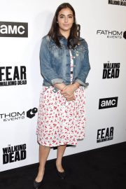 Alanna Masterson Stills at FYC The Walking Dead and Fear the Walking Dead in Los Angeles 2018/04/15 2