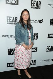 Alanna Masterson Stills at FYC The Walking Dead and Fear the Walking Dead in Los Angeles 2018/04/15 3