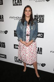 Alanna Masterson Stills at FYC The Walking Dead and Fear the Walking Dead in Los Angeles 2018/04/15 5