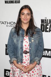 Alanna Masterson Stills at FYC The Walking Dead and Fear the Walking Dead in Los Angeles 2018/04/15 10