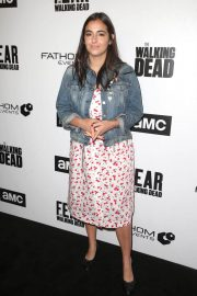 Alanna Masterson Stills at FYC The Walking Dead and Fear the Walking Dead in Los Angeles 2018/04/15 11