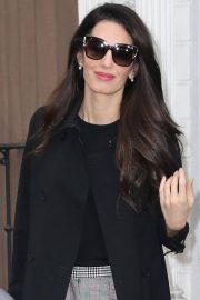 Amal Clooney Stills Out and About in New York 2018/04/12 2