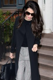 Amal Clooney Stills Out and About in New York 2018/04/12 11