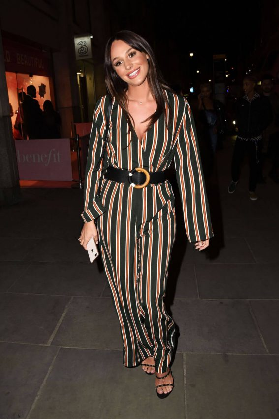 Amber Dowding Stills at Stefflon Don Boohoo Launch Party in London 2018/04/26 6