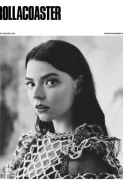 Anya Taylor-Joy Poses for Rollacoaster Magazine, Spring/Summer 2018 Issue 5
