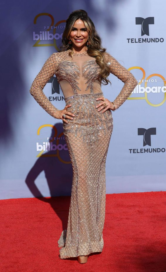 Aylin Mujica Stills at Billboard Latin Music Awards in Las Vegas 2018/04/26 2