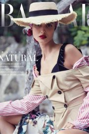 Blanca Padilla Stills at Harper's Bazaar Spain Magazine, April 2018 Issue 1
