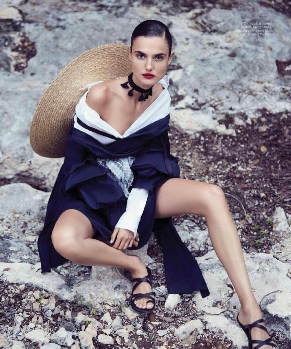Blanca Padilla Stills at Harper's Bazaar Spain Magazine, April 2018 Issue 5
