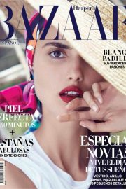 Blanca Padilla Stills at Harper's Bazaar Spain Magazine, April 2018 Issue 7