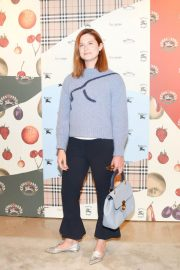 Bonnie Wright Stills at Burberry x Elle Celebrate Personal Style with Julien Boudet in Los Angeles 2018/04/18 1