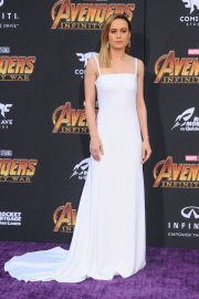 Brie Larson Stills at Avengers: Infinity War Premiere in Los Angeles 2018/04/23 1