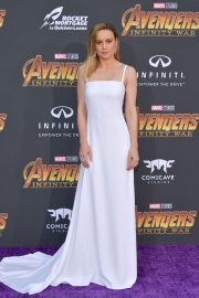 Brie Larson Stills at Avengers: Infinity War Premiere in Los Angeles 2018/04/23 3