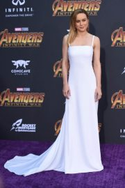 Brie Larson Stills at Avengers: Infinity War Premiere in Los Angeles 2018/04/23 8