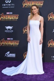 Brie Larson Stills at Avengers: Infinity War Premiere in Los Angeles 2018/04/23 9