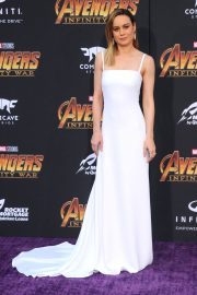 Brie Larson Stills at Avengers: Infinity War Premiere in Los Angeles 2018/04/23 10