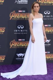 Brie Larson Stills at Avengers: Infinity War Premiere in Los Angeles 2018/04/23 14
