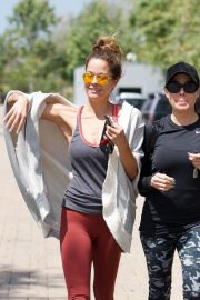 Brooke Burke Stills Leaves a Gym in Brentwood 2018/04/25 6