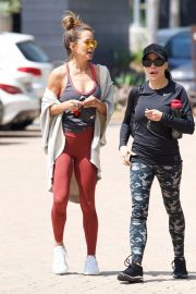 Brooke Burke Stills Leaves a Gym in Brentwood 2018/04/25 9