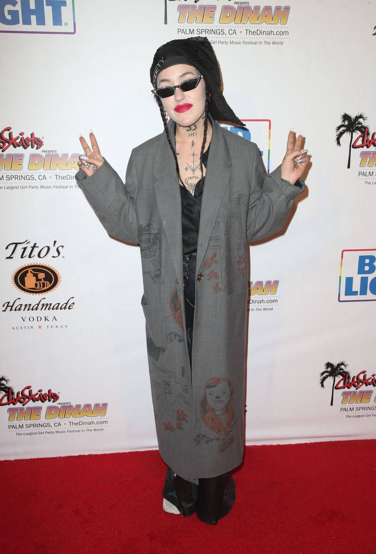 Brooke Candy Stills at Club Skirts Presents the Dinah Shore the Hollywood Party in Palm Springs 2018/03/31 1