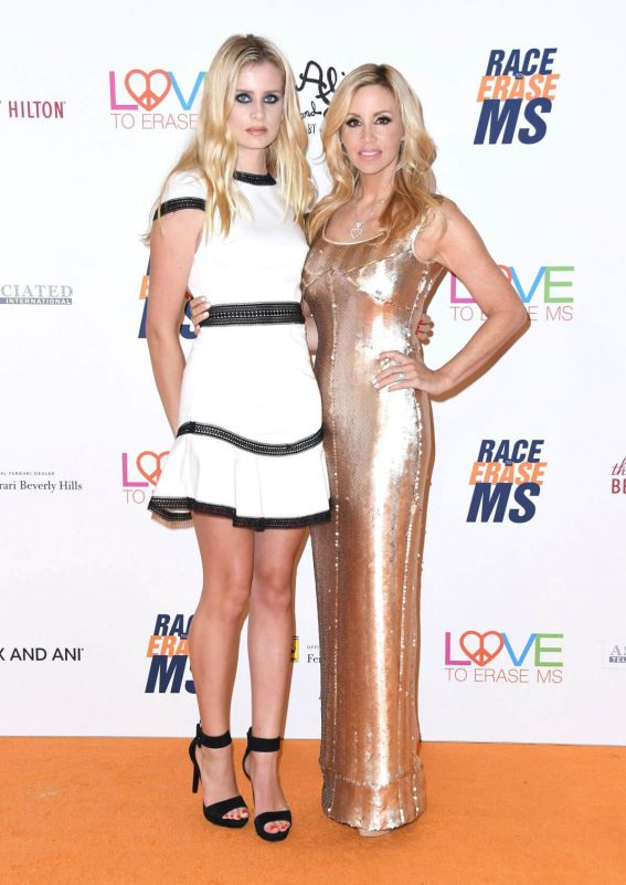 Camille Grammer Stills at Race to Erase MS Gala 2018 in Los Angeles 2018/04/20 9