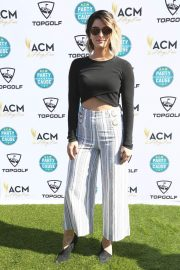 Cassadee Pope Stills at Academy of Country Music Presents Lifting Lives Topgolf Tee-off in Las Vegas 2018/04/14 1