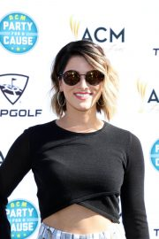 Cassadee Pope Stills at Academy of Country Music Presents Lifting Lives Topgolf Tee-off in Las Vegas 2018/04/14 4