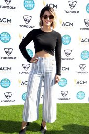 Cassadee Pope Stills at Academy of Country Music Presents Lifting Lives Topgolf Tee-off in Las Vegas 2018/04/14 5