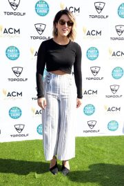 Cassadee Pope Stills at Academy of Country Music Presents Lifting Lives Topgolf Tee-off in Las Vegas 2018/04/14 12