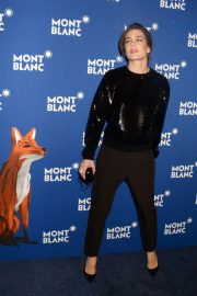 Charlotte Casiraghi Stills at Montblanc Celebrates 75th Anniversary of Le Petit Prince in New York 2018/04/04 15