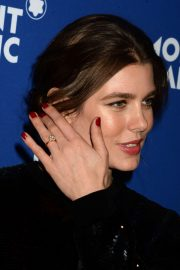 Charlotte Casiraghi Stills at Montblanc Celebrates 75th Anniversary of Le Petit Prince in New York 2018/04/04 16