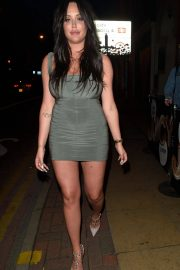 Charlotte Crosby Stills Night Out in Manchester 2018/04/21 2