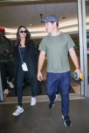 Chloe Bridges and Adam Devine Stills at LAX Airport in Los Angeles 2018/04/20 1