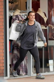 Coleen Rooney Stills Out Shopping in Wilmslow 2018/04/18 13