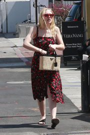 Dakota Fanning Stills Out and About in Beverly Hills 2018/04/23 11