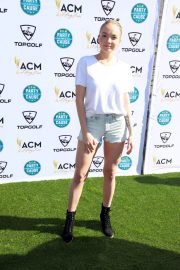 Danielle Bradbery Stills at Academy of Country Music Presents Lifting Lives Topgolf Tee-off in Las Vegas 2018/04/14 2