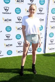 Danielle Bradbery Stills at Academy of Country Music Presents Lifting Lives Topgolf Tee-off in Las Vegas 2018/04/14 4