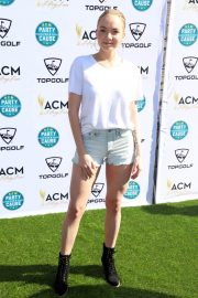 Danielle Bradbery Stills at Academy of Country Music Presents Lifting Lives Topgolf Tee-off in Las Vegas 2018/04/14 11