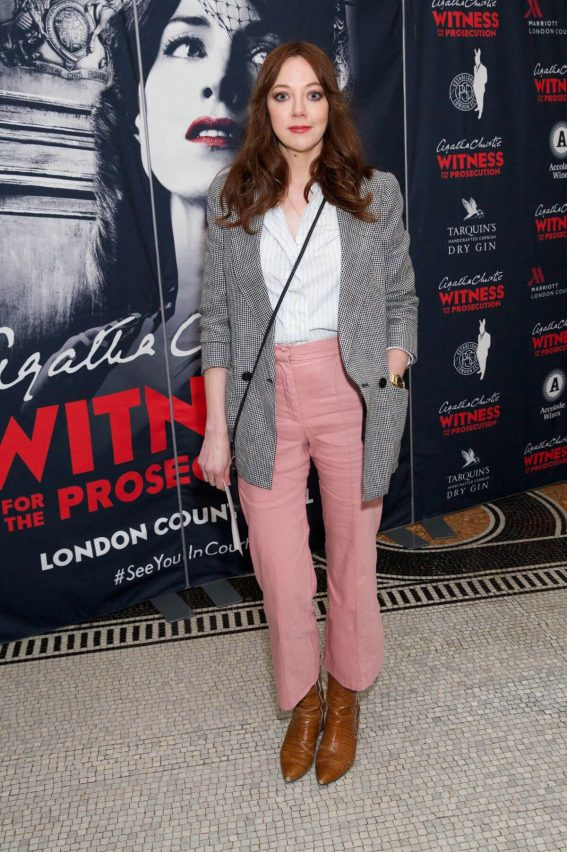 Diane Morgan Stills at Witness for the Prosecution by Agatha Christie Play in London 2018/04/25 4