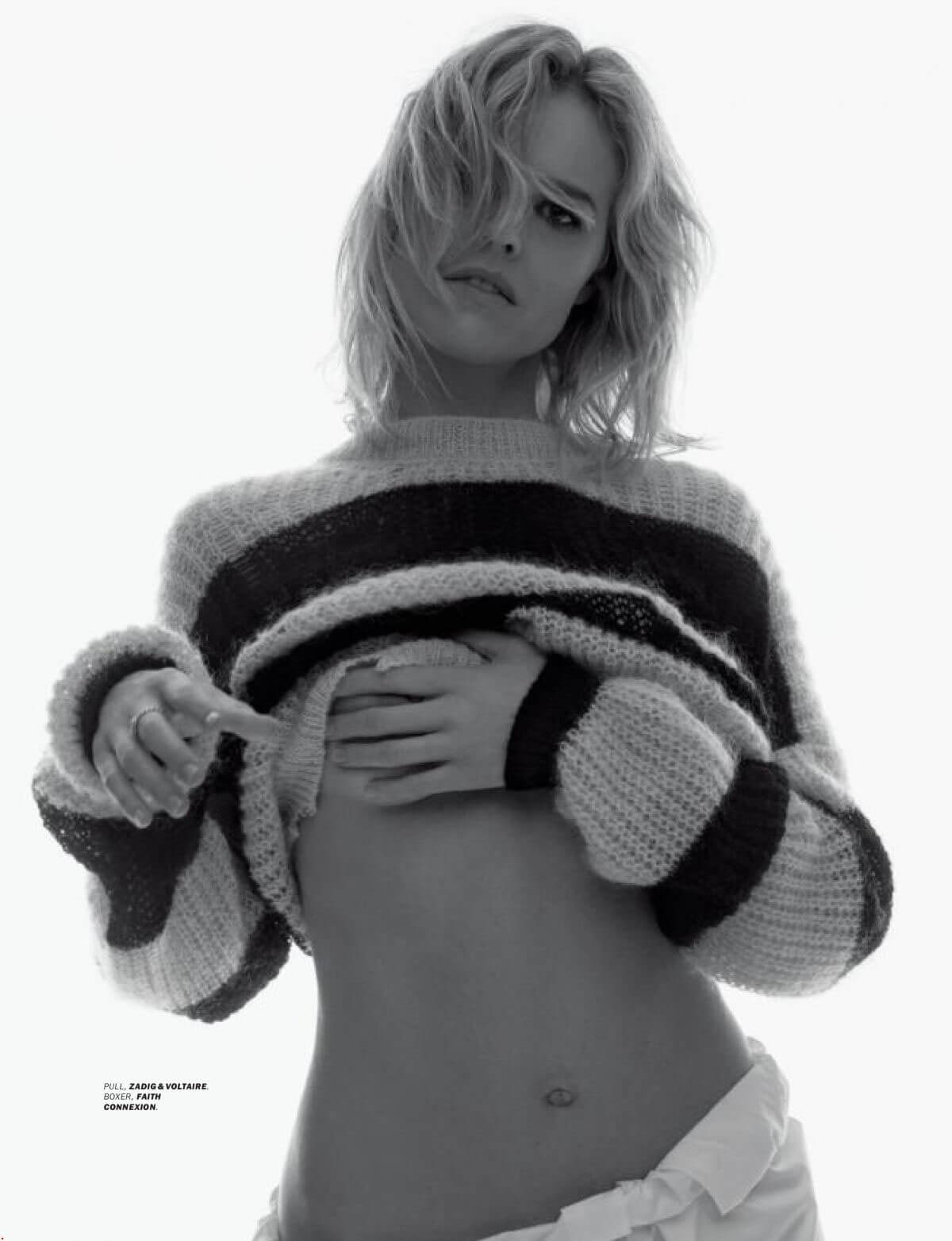 Eva Herzigova Stills in Lui Magazine, March 2018 Issue 6