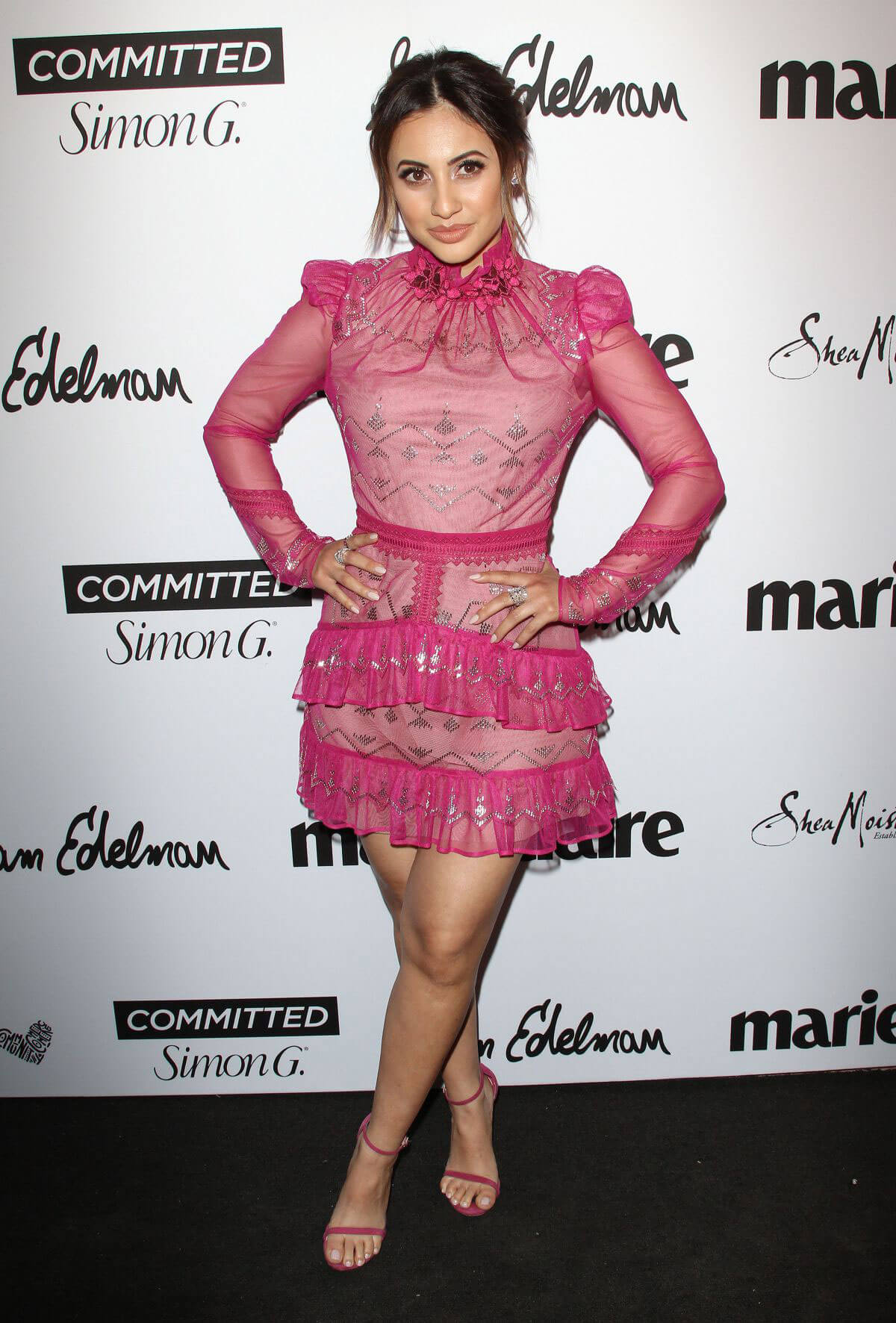 Francia Raisa Stills at Marie Claire Fresh Faces Party in Los Angeles 2018/04/27 5