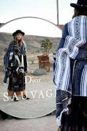 Georgie Flores Stills at Dior Sauvage Party in Pioneertown 2018/04/12 1