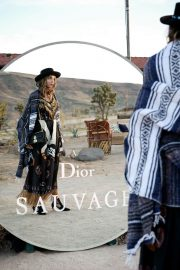 Georgie Flores Stills at Dior Sauvage Party in Pioneertown 2018/04/12 2