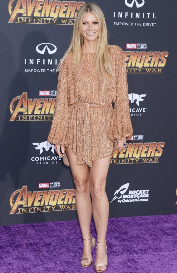Gwyneth Paltrow Stills at Avengers: Infinity War Premiere in Los Awards 2018/04/23 19