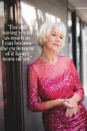 Helen Mirren Stills at Woman & Home UK Magazine, June 2018 Issue 2