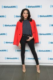 Inbar Lavi Stills at SiriusXM Studios in New York 2018/04/11 2